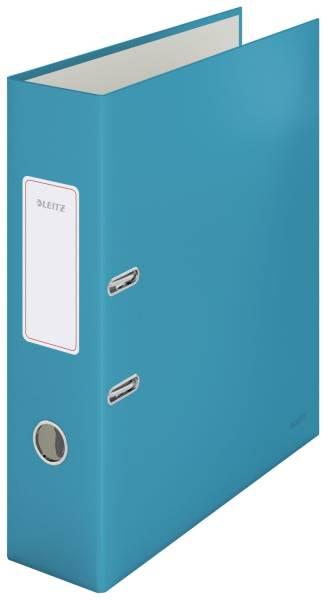 LEITZ Ordner Cosy A4 80mm blau 1061-00-61 180°