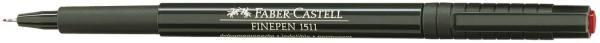 FABER CASTELL Feinliner Finepen 0.4mm rot 151121 dok.echt