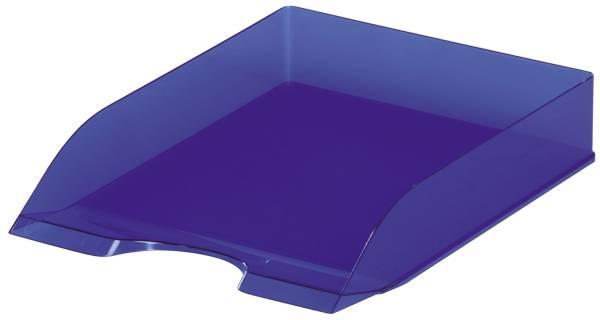 DURABLE Briefkorb A4 transparent/blau 1701673540 BASIC