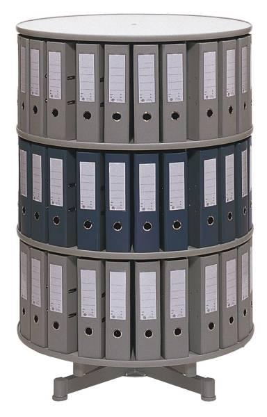 REEF Ordnerdrehsäule 3 Etagen grau R2081B3