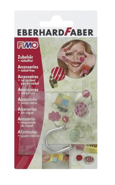 STAEDTLER Schmuck Fimo Ring U-Form 862502 Bk1St