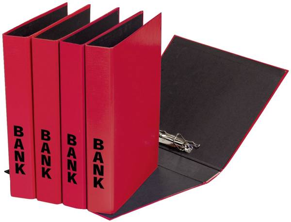 PAGNA Bankordner A4 rot 40851-03 26x32cm