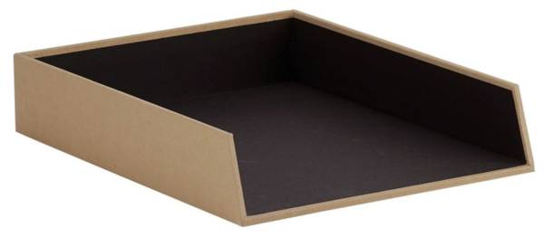 RÖSSLER Ablagebox Soho kraft 1335452620 A4