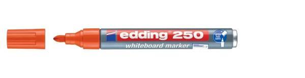 EDDING Boardmarker 250 1,5-3mm orange 4-250006 Rundspitze nachfüllbar