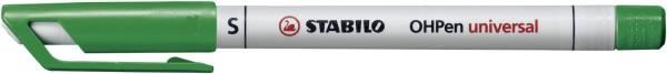 STABILO Folienstift OHPen S grün 851/36 wasserlöslich