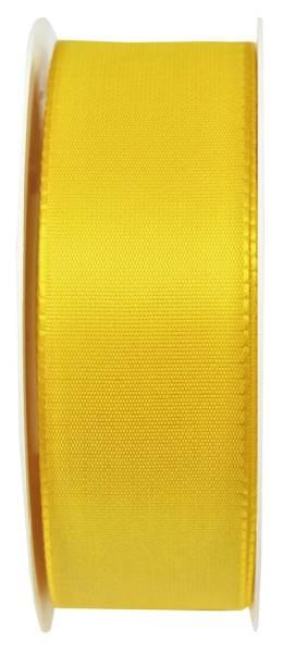 Basic Taftband 40 mm x 50 m, gelb