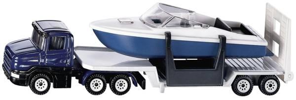 SIKU Tieflader mit Boot 1613