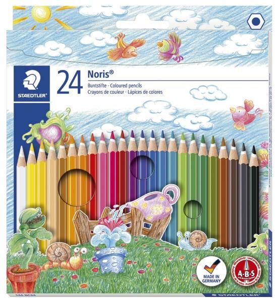 STAEDTLER Farbstiftetui Noris Club 24St 144 NC24 Kartonetui