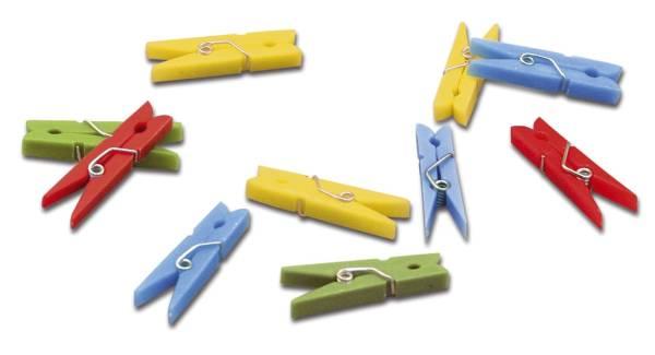 Miniklammer Plastik 20ST 304 25mm