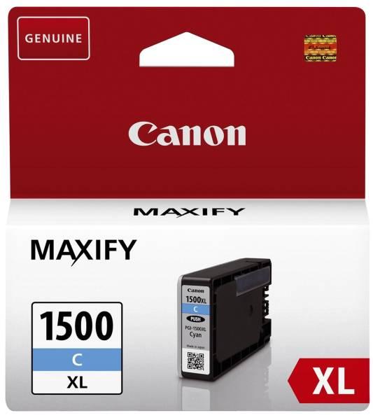 CANON Inkjetpatrone PGI-1500XLC cyan 9193B001