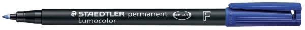 Feinschreiber Lumocolor Universalstift permanent, F, blau®