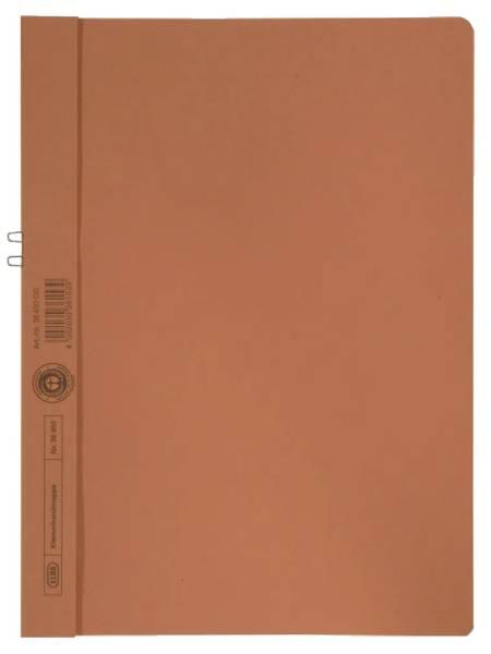 Klemmmappe, Manilakarton (RC), 250 g qm, für 10 Blatt A4, orange