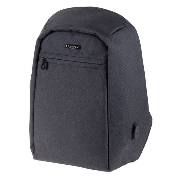 LIGHTPAK Rucksack Safepak anthrazit 46154 31x45x15cm