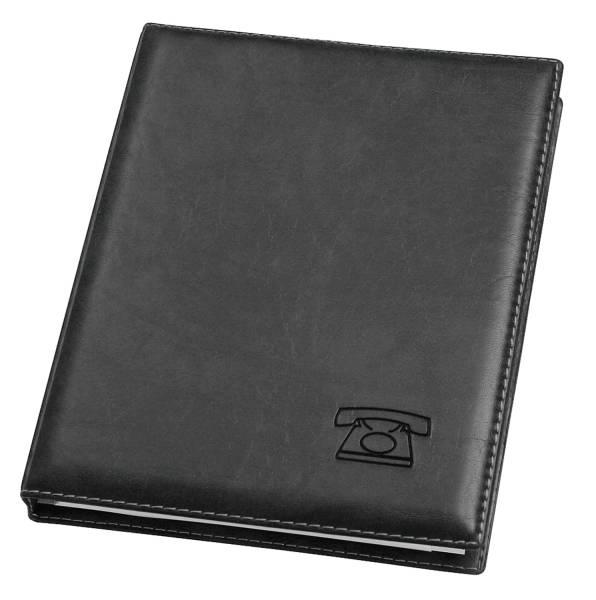 VELOFLEX Telefonringbuch Exquisit A5 schwarz 5158780