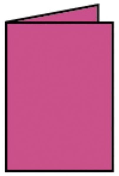 RÖSSLER Briefkarte Paperado A7 HD fuchsia 164009154 74x150mm gerippt