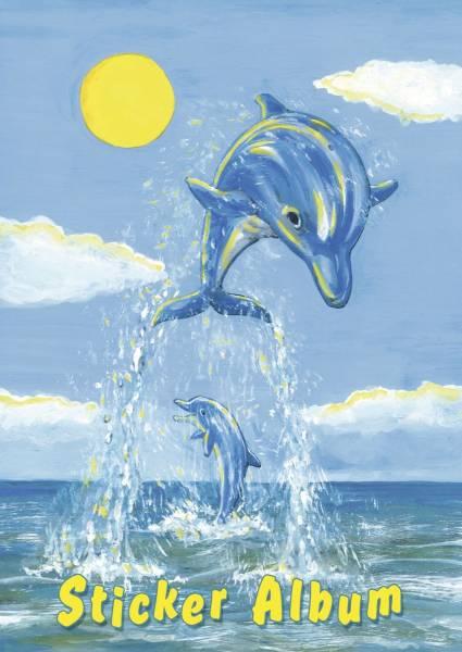 HERMA Stickeralbum A5 Der Kleine Delfin 15419