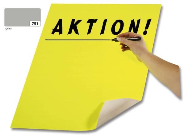 Plakatkarton 48 x 68 cm, grau