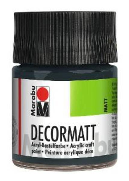 Decormatt Acryl, Dunkelgrau 079, 50 ml