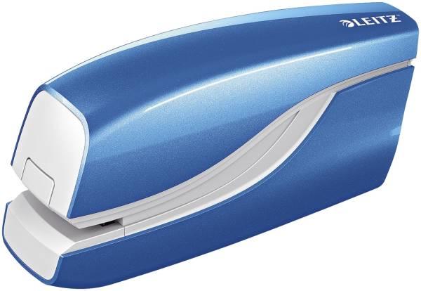 5566 Elektrisches Heftgerät WOW, Heftleistung 10 Blatt, blau metallic