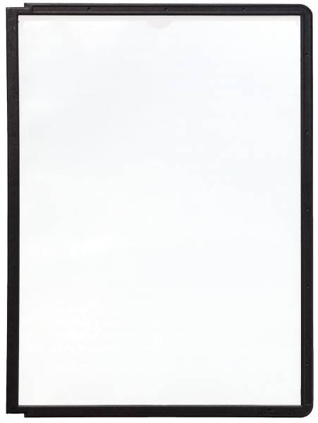 DURABLE Sichttafel A4 schwarz 5606 01
