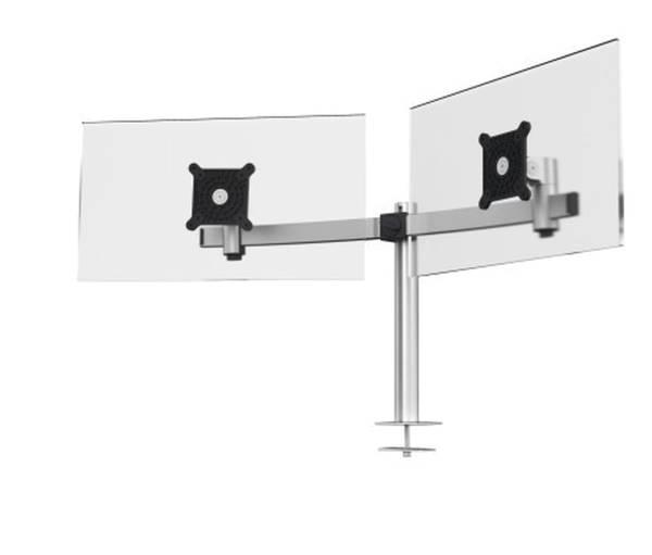 DURABLE Bildschirmträger silber 508623 m. Tischdurchführung