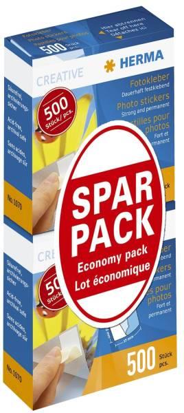 1075 Fotokleber Sparpack 2 x 500 St