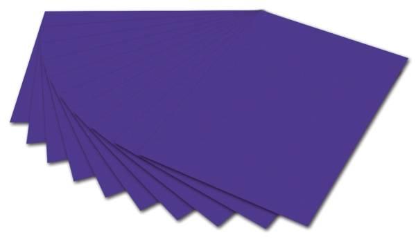 FOLIA Fotokarton 50x70cm d.violett 6132 E 300g