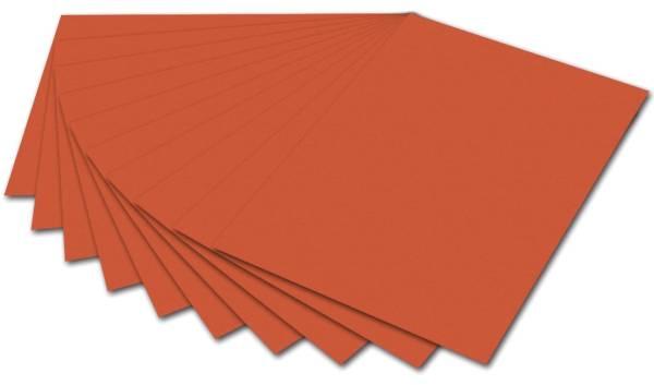 FOLIA Fotokarton A4 orange 614/50 40 300g
