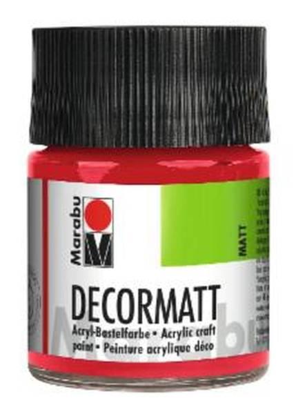Decormatt Acryl, Kirschrot 031, 50 ml