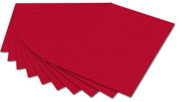 Fotokarton A4, rot