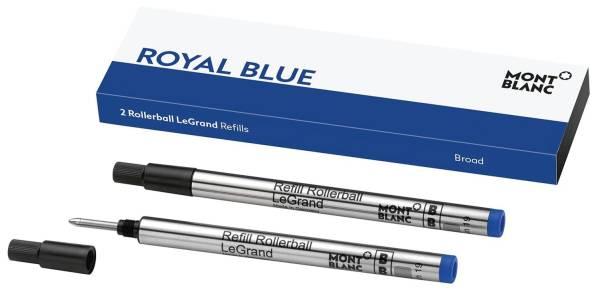 MONT BLANC TIntenrollermine B 2ST royal blue 128229