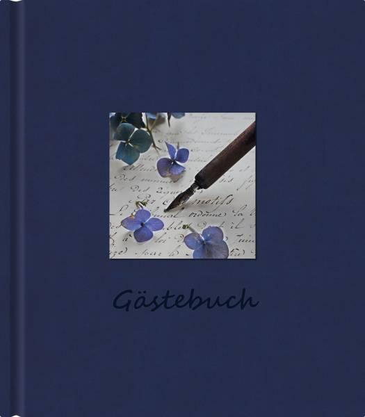 Gästebuch Scriptura blau 1100 21x24cm
