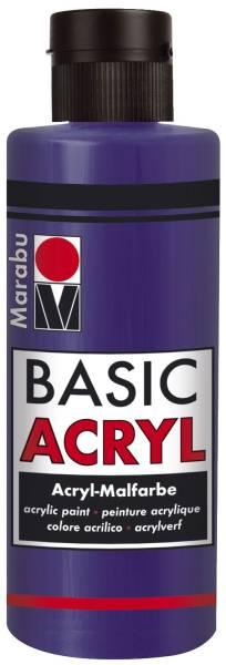 MARABU Basic Acryl dunkelviolett 12000 004 051 80ml