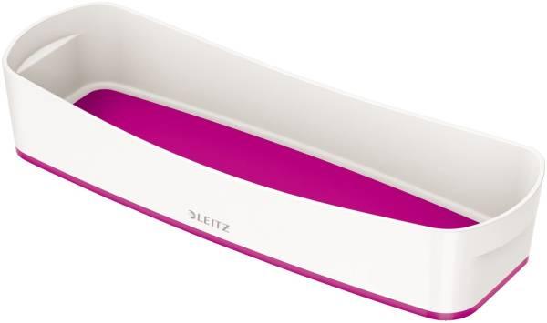 LEITZ Ablageschale MyBox lang weiß/pink 5258-10-23