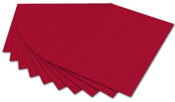 Tonpapier 50 x 70 cm, ziegelrot