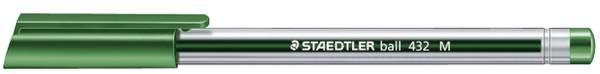 STAEDTLER Kugelschreiber ball 432 M grün 432 M-5