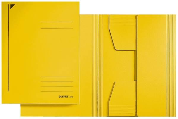 3924 Jurismappe, A4, Colorspankarton 300g, gelb