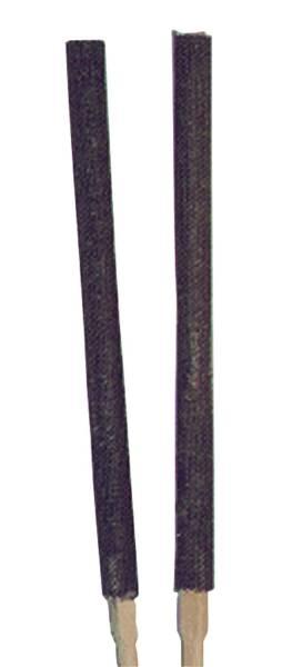 Wachsfackel 60 cm, dunkel