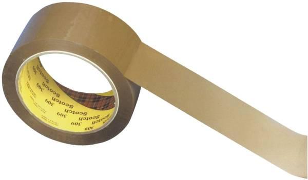 Verpackungsklebeband 309 66m x 50mm, braun
