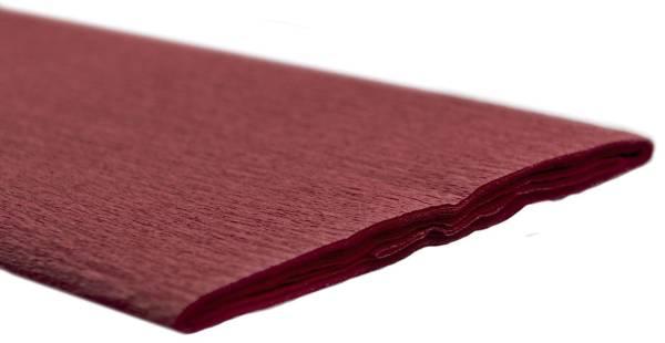 Krepppapier 50 x 250 cm rubinrot