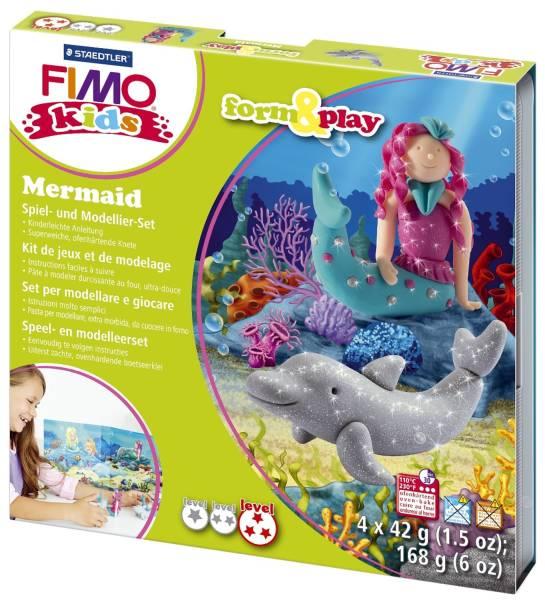 """Modelliermasse Kids Materialpackung Form & Play """"Mermaid"""", 4 x 42 g®"""