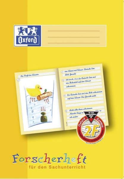 Schreiblernheft LIN 2F A4, 16 Blatt, 90g qm, Forscherheft
