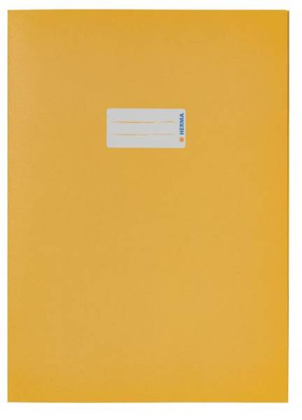 5521 Heftschoner Papier A4, gelb