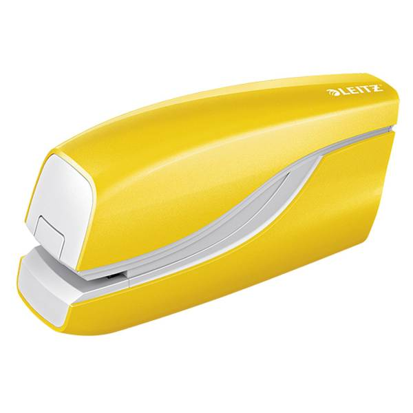 LEITZ Elektrohefter WOW metallic gelb 5566-10-16 NeXXt 10BL