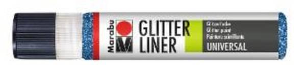 MARABU Glitter Liner 25ml saphir 1803 09 594