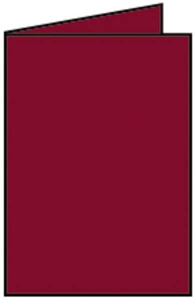 RÖSSLER Briefkarte B6 HD 5ST rosso 220719572