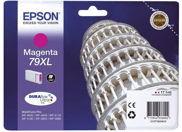 EPSON Inkjetpatrone Nr. 79XL magenta C13T79034010