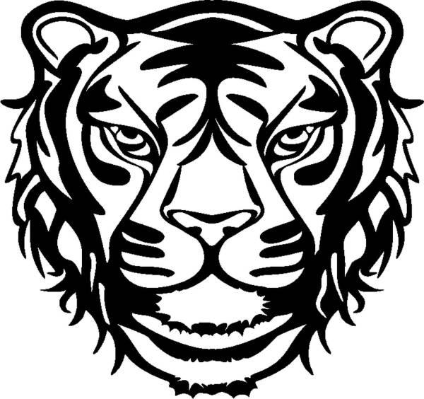 MARABU Schablone Wild Tiger 0289 00 007 30x30cm