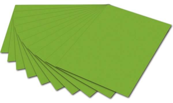 Tonpapier 50 x 70 cm, grasgrün