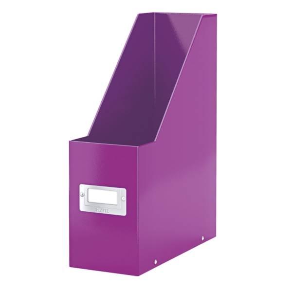 LEITZ Stehsammler A4 Wow met.violett 6047-00-62 Click&Store